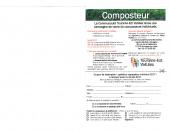 Vente composteurs – Flyer