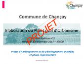 Elaboration du Plan Local d'Urbanisme (P.L.U.)