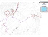 7-7 – Plans des réseaux Vue générale